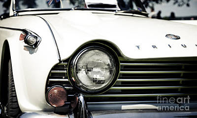 Photograph - Triumph Tr4a Irs - Front Quarter by RicharD Murphy