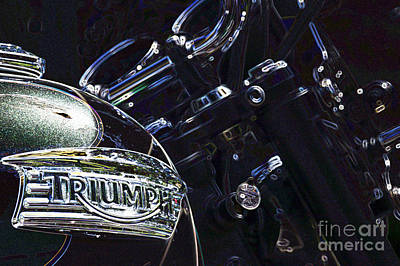Digital Art - Triumph 1 by Wendy Wilton