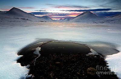 Photograph - Troll Peninsula Sunset by Roddy Atkinson