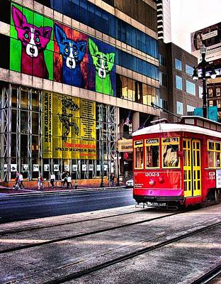 Art Print featuring the photograph Trolley Time by Robert McCubbin