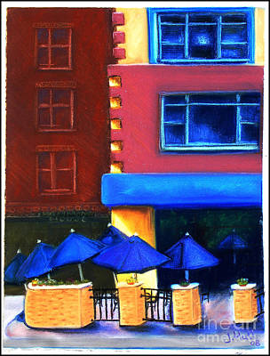 Trolley's Art Print by Janet Hull
