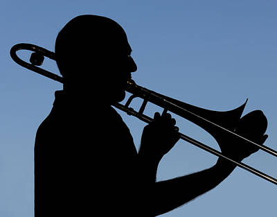 Trombone Player Art Print
