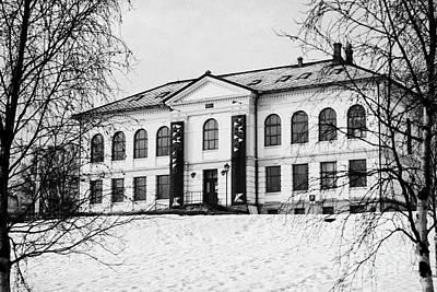 Tromso Gallery Of Contemporary Art Troms Norway Europe Art Print by Joe Fox