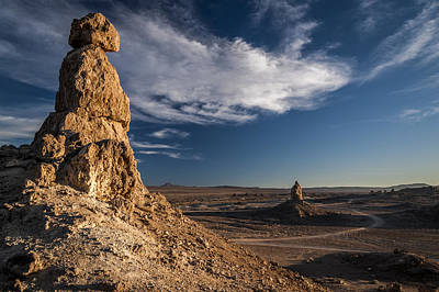 Photograph - Trona Pinnacles by Cat Connor