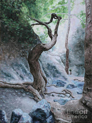 Larnaca Painting - Troodos Trail by Theo Michael