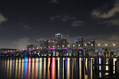 Trooper Bridge Miami Art Print