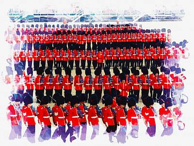 Trooping The Colour Original by Don Kuing