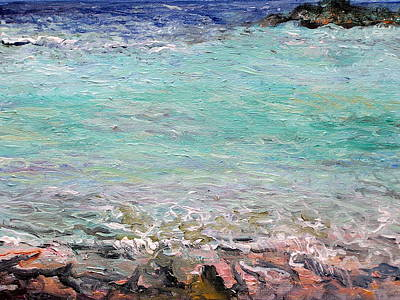 Painting - Tropic Sea by Patricia Trudeau