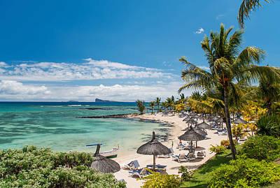 Revolutionary War Art - Tropical Beach II. Mauritius by Jenny Rainbow
