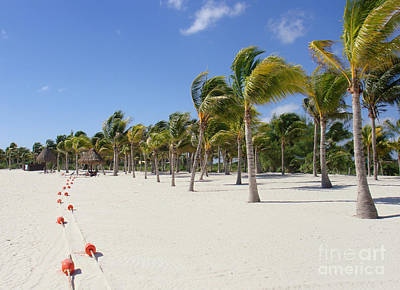 Photograph - Tropical Beach - Mayan Riviera - Yucatan Peninsula - Mexico by Renata Ratajczyk