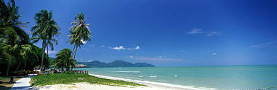 Tropical Beach Penang Malaysia Print by Panoramic Images