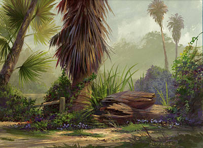 Painting - Tropical Blend by Michael Humphries