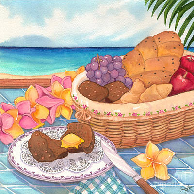 Painting - Tropical Breakfast by Tammy Yee