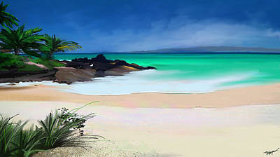 Digital Art - Tropical Charm by Anthony Fishburne