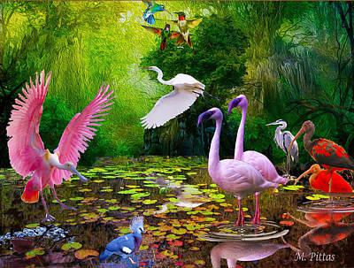 Tropical Colors Art Print