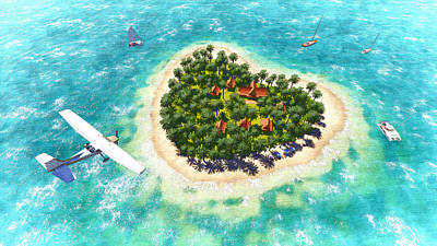 Tropical Dream Original by Marina Likholat