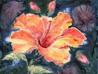 Tropical Explosion Print by Marsha Elliott