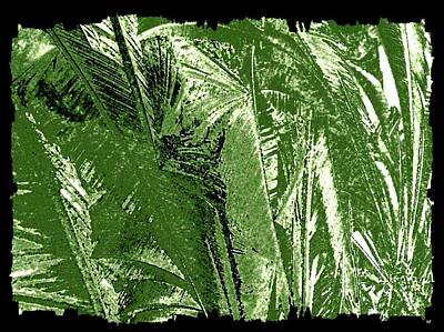 Digital Art - Tropical Foliage by Will Borden