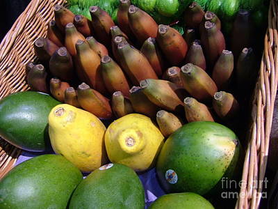 Photograph - Tropical Fruit by Terri Thompson
