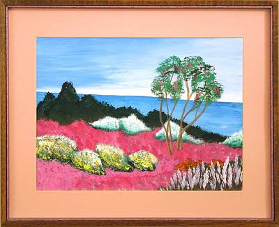 Painting - Tropical Gardens by Ron Davidson