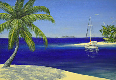 Painting - Tropical Haven by David Clode