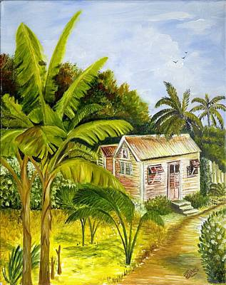 Painting - Tropical Haven by Richard Jules