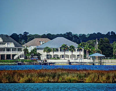 Photograph - Tropical Home On The Bay by Cathy Jourdan
