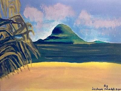 Painting - Paradise  by Joshua Maddison