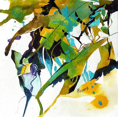 Tropical Leaf Fantasy Art Print