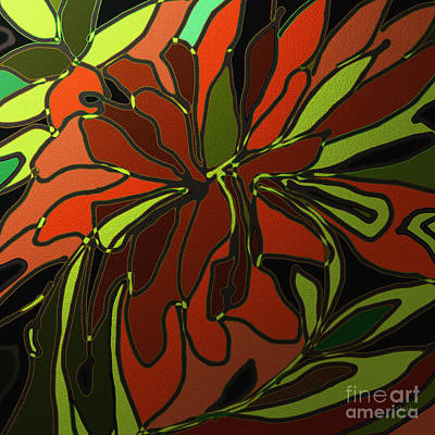 Tropical Leaves Art Print by Shesh Tantry