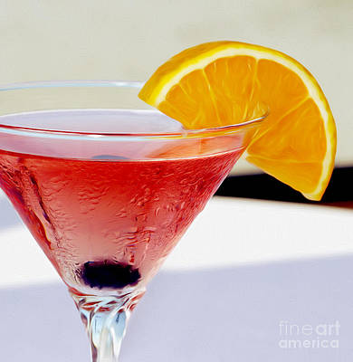 Cosmopolitan Photograph - Tropical Martini by Jon Neidert