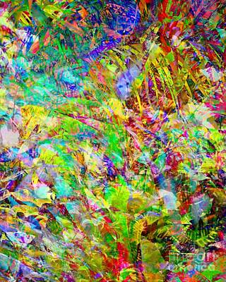 Digital Art - Tropical Mishmash by Darla Wood