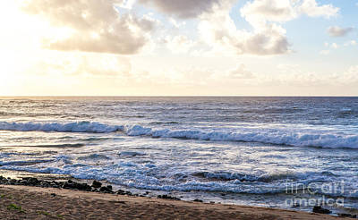Art Print featuring the photograph Tropical Morning  by Roselynne Broussard