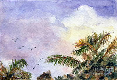 Painting - Tropical Morning by Suzanne Krueger