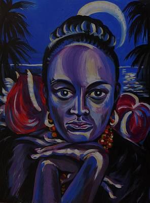 Tropical Night Art Print