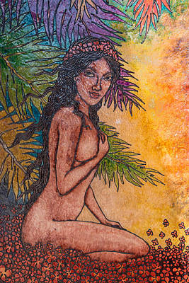Photograph - Tropical Nude by Roger Mullenhour
