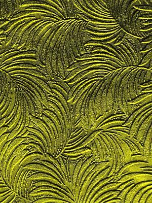 Tuscan Sunset Digital Art - Tropical Palms - Peridot Green And Metallic Gold by Artistic Mystic