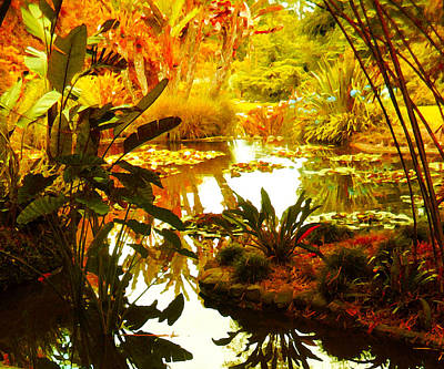 Painting - Tropical Paradise by Amy Vangsgard