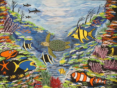 Tropical Paradise Art Print by Jeffrey Koss