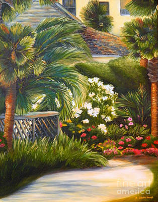 Painting - Tropical Path by Shelia Kempf