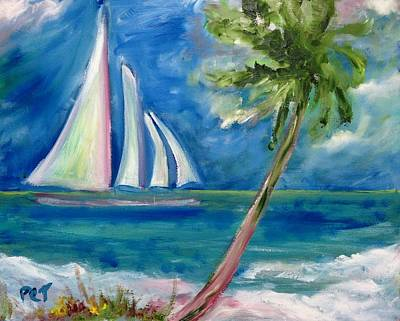 Painting - Tropical Sails by Patricia Taylor