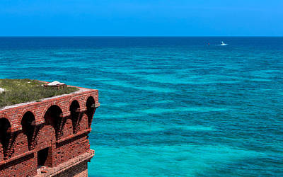 Tropical Seas Off Fort Jefferson Art Print by John M Bailey