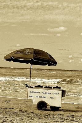 Tropical Sherbet Cart In Sepia Original