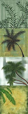 Tropical Splash By Madart Art Print by Megan Duncanson