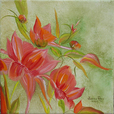 Painting - Tropical Splash by Judith Rhue