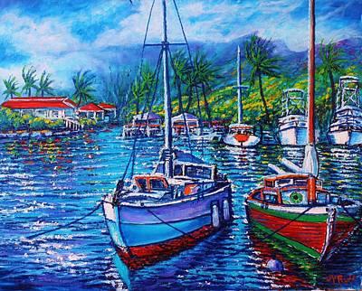 Painting - Tropical Splender by Joseph   Ruff