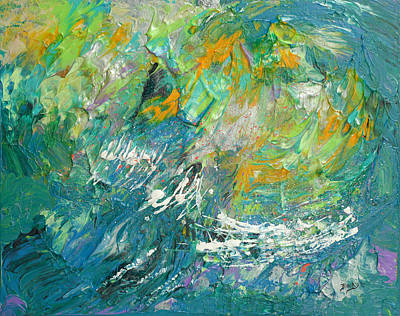 Painting - Tropical Storm by Donna Blackhall