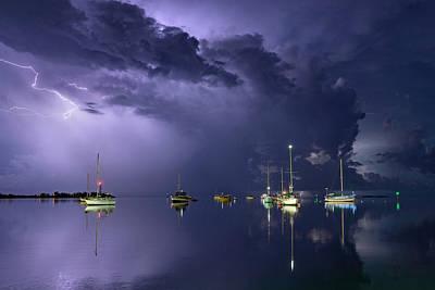 Florida Seascapes Photograph - Tropical Storm1 by Alexandru Popovski