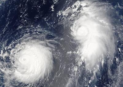 Tropical Storms, 2005 Art Print