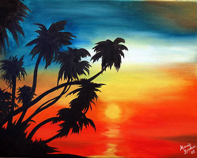 Painting - Tropical Sun by Marvin Barham